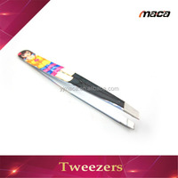 TW1161 2015 Fashionable tweezers manufacturer cartoon eyebrow trim tweezers