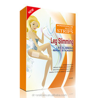 New Design beauty products Leg Slimming Magic Stickers