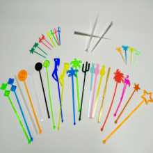 Customized plastic Swizzle Sticks and bar picks