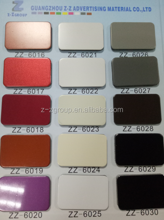 Guangzhou Alucobond Composite Panel ACP Panel 3mm 4mm