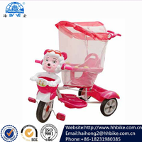 cute kids baby three wheel tricycle for 1 years old child
