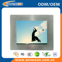 Mini 8 inch fanless industrial tablet PC all in one