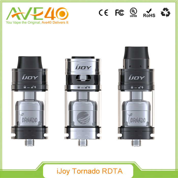 2016 Original New Wholesale IJOY Released Tornado 300W RDTA Distributor Opportunities Capable Two Post Ijoy Tornado
