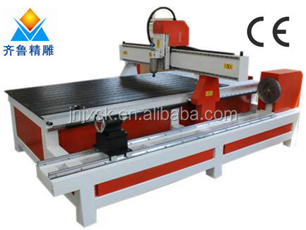 1300*2500 mm wood cnc router column making wood carving machine