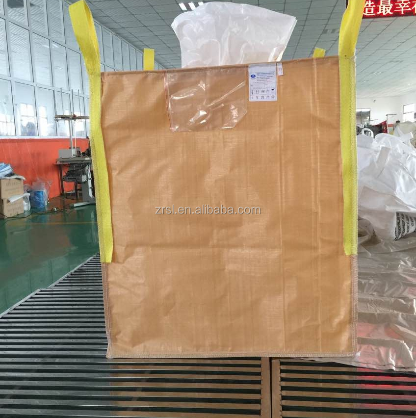 coated jumbo big bag can moistureproof, pp woven sack plastic 1 ton cement in big bag fibc big bag used