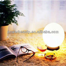 cheap waterproof rechargeable plastic fashionable led lighted up ball with rechargeable battery