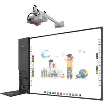 82 inch finger touch screen interactive whiteboard with <strong>projector</strong>