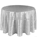 silver pintuck table cloth