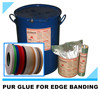 PUR hot melt glue adhesive for PVC edge banding strong initial strength fast drying