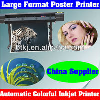 Eco Solvent Inkjet Printer Machine for Outdoor Poster Printing,Automatic Digital Large Format Inkjet Combination Printer Cutter
