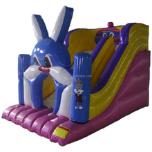 Small inflatable water slides with free air pump for party & events for kids and adult / cheap inflatable slide with good prices