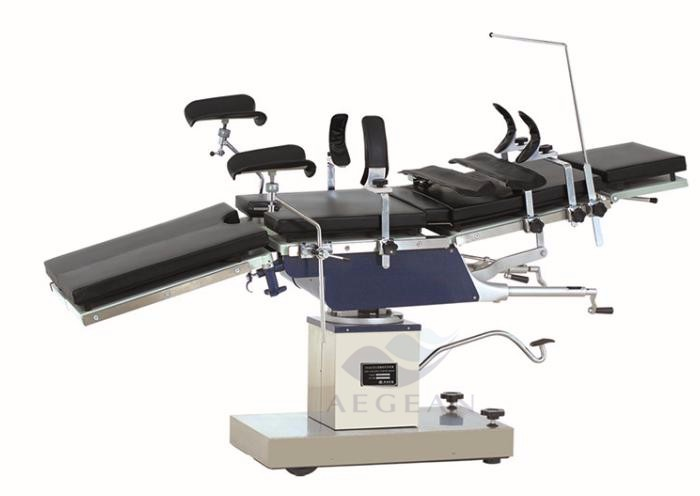 AG-OT025 hospital medical manual hydraulic operating table manufacturer