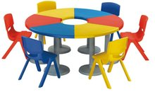 Kindergarten desk & chair - Nursery school furniture