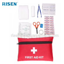 Mini wholesale medical first aid pouch kit for promotional gifts