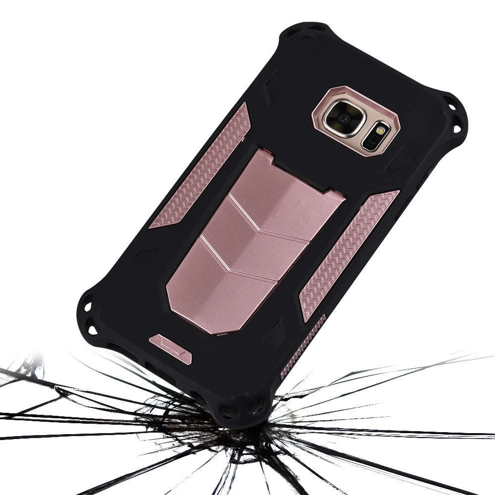 For Samsung S7 Case, Kickstand Hybrid Heavy Duty Rugged Dual Layer Armor Defender Case For Samsung Galaxy S7