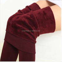 Women's Winter Thick Warm Fleece Lined Thermal Stretchy legging Pants