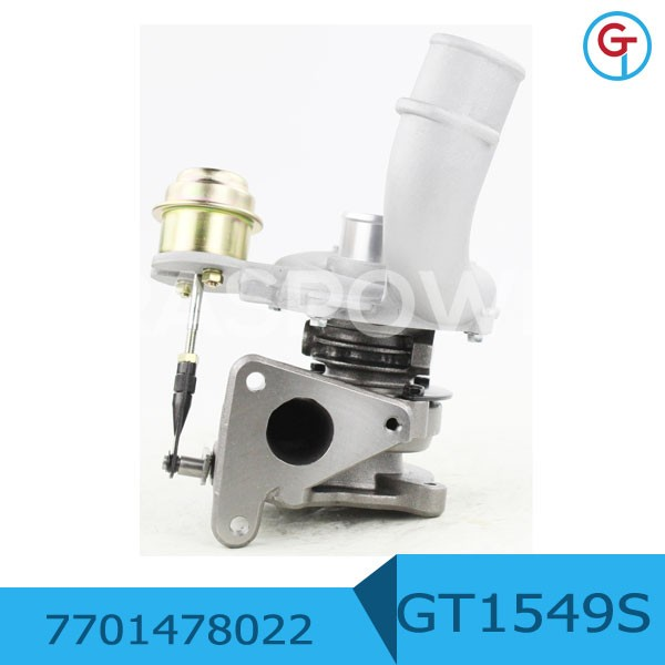 GT1549S 7701478022 Turbo For Renault CLIO II 1.9 DTI F9Q <strong>Engine</strong> 751768-1