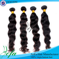 natural black dark brown deep maroon light brown AAAAA grade brazilian hair weft