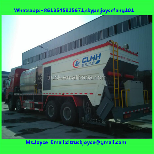 Hot Synchronous Asphalt Rubber Chip Sealer
