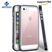 for iphone 5 case electroplating PC frame soft TPU bumper 2 in 1 mobile phone cover for iphone 5S SE