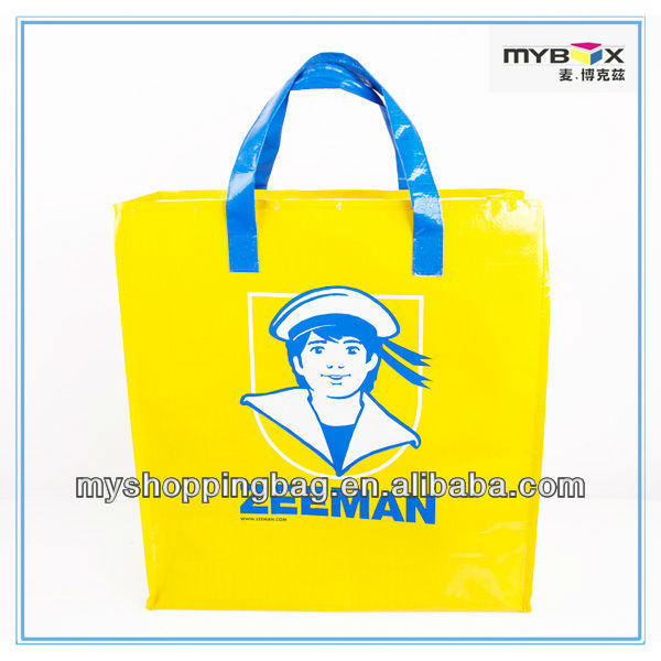 Hot Sale Marilyn Monroe reusable pp woven Sex Printing shopping bag