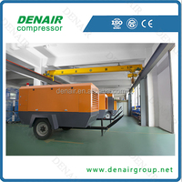 free shipping portable air compressor 250cfm