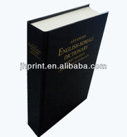 High Quality Hardcover Book Thin Paper Printing,Professional Printing Dictionary