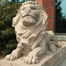 Latest Chinese Stone Lion Sculpture