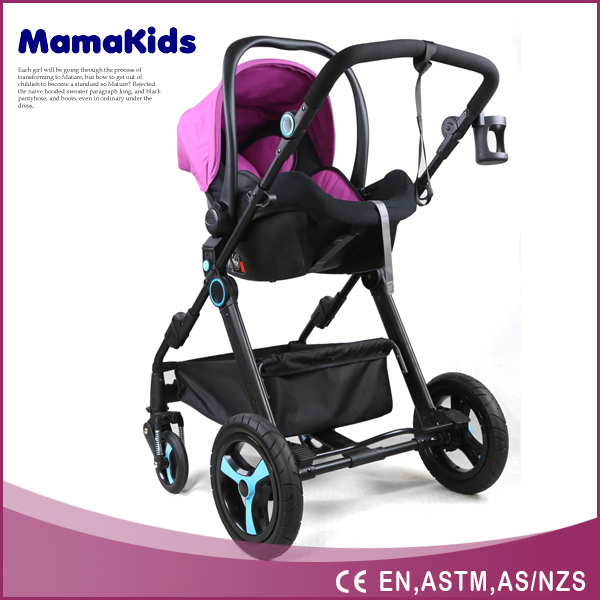 2016 hot sale multifuction Deluxe Strong Steel Tube Frame Baby Stroller /Pram/Jogger /Buggy