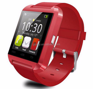 u8 smart watch with camera and sim card slot Touch Screen Cheap Sport Smart Watch