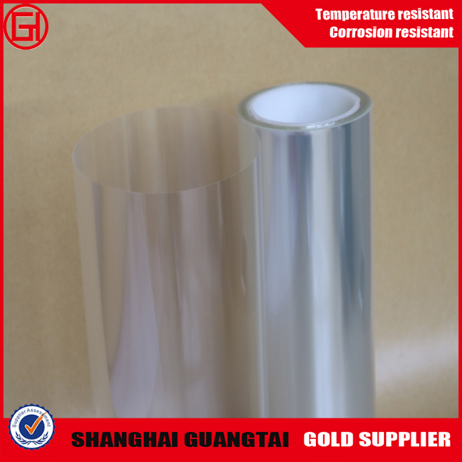 higher quality plastic clear pet film