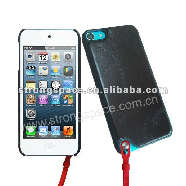 for iPod Touch 5 leather case