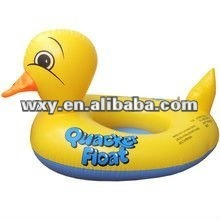 Promotional PVC Inflatable duck cartoon water toy for kid toys,animal cartoon pvc toys