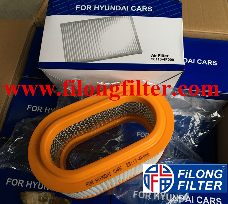 Supply FILONG For HYUNDAI Air filter 28113-4F000 281134F000 MD-5298 FA-H29S SB2160