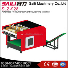 Number control automatic carton box making/cutting/grooving machine prices