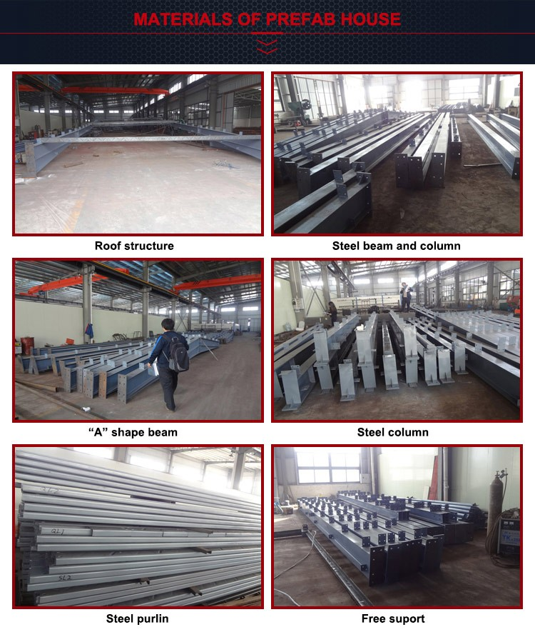 Eco Friendly Prefabricated Steel Structure Warehouse and Plant