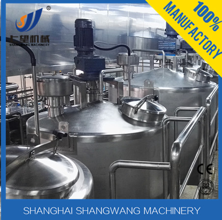 Stainless steel cheese vat for dairy /cheese production line/plant