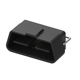 OBD2 male 16 pin Molded with Cable Solder Type 24V OBD2 for Car auto Diagnostic Adapter