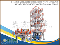 2015 Newest POF machine high transpare heating shrink film from Uniwis