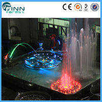 Guangzhou China music dancing LED colorful indoor water fountains