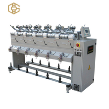Automatic sewing thread winding machine used for small botto,grp pipe helical winding machine