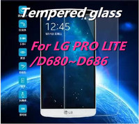 Ultra-thin Tempered Glass Screen Protector for LG PRO LITE/D680~D686 9H Perfect Anti-scratch/Fingerprint & water resistant