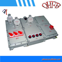 Aluminum Customized Electric Distribution panel box with bolt