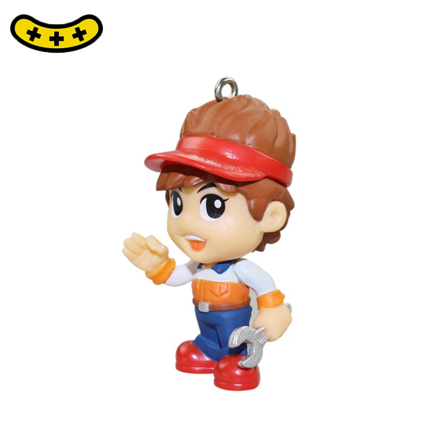 2019 new products decoration doll pvc material action figure on sales
