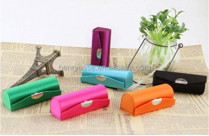 high quality metal lipstick case with mirror