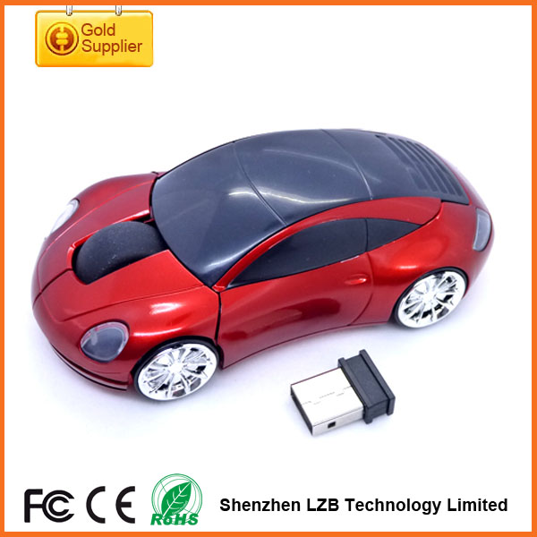 OEM Car Shape Mouse 2.4G Wireless Mouse Computer Mice USB Optical Mouse car design