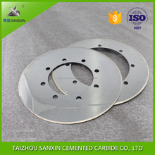 k20 carbide knife cemented carbide saw blade for cutting paper saw blade carbide inserts