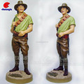 Custom ResinToy Soldier Statue