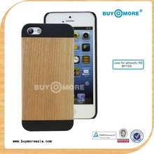 2014 new cherry wooden rechargeable battery case for iphone 5 5s