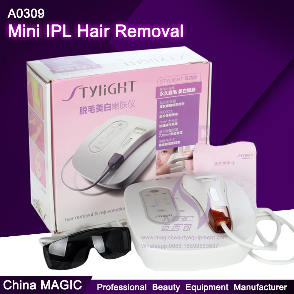 A0309 Mini IPL Hair Removal Machines Home Use